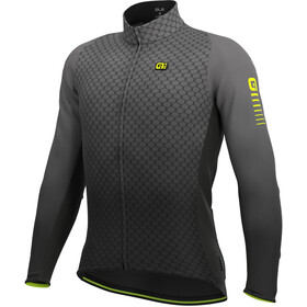 Alé Cycling R-EV1 Velocity Wind G+ Longsleeve Jersey Heren, charcoal grey/black